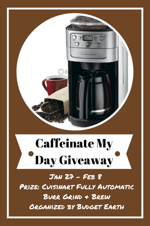 Caffeinate My Day Giveaway
