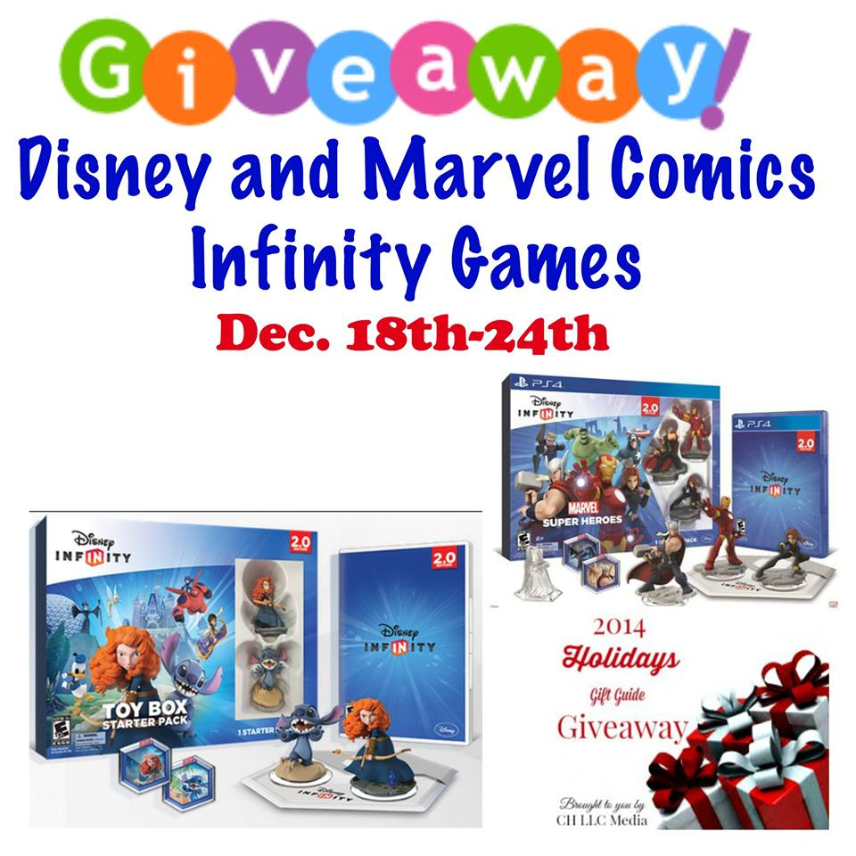 Disney and Marvel Comics Infinity Games Giveaway