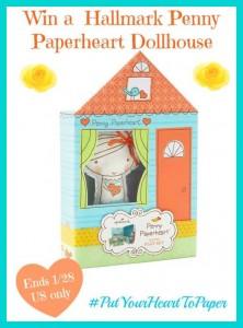 Hallmark Penny Paperheart Dollhouse Giveaway